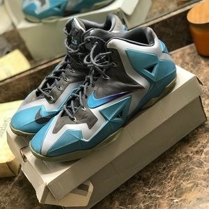 Nike LeBron Gamma Blue